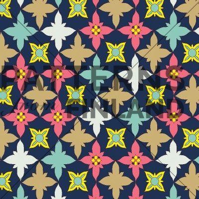 Bissap by Kahandi Design   #patternsfromfinland #kahandidesign #pattern #surfacedesign #finnishdesign