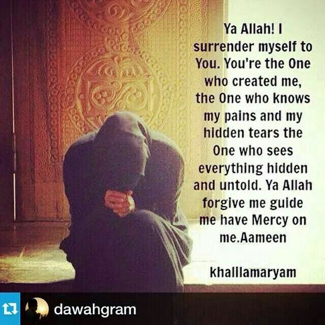 Allah Subhana Wa Tala'a my only one