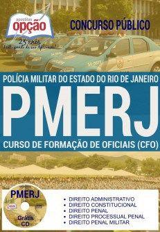 Apostila Curso de Formação de Oficiais (CFO) Concurso PMERJ 2017 PDF, Download, Baixar, Digital