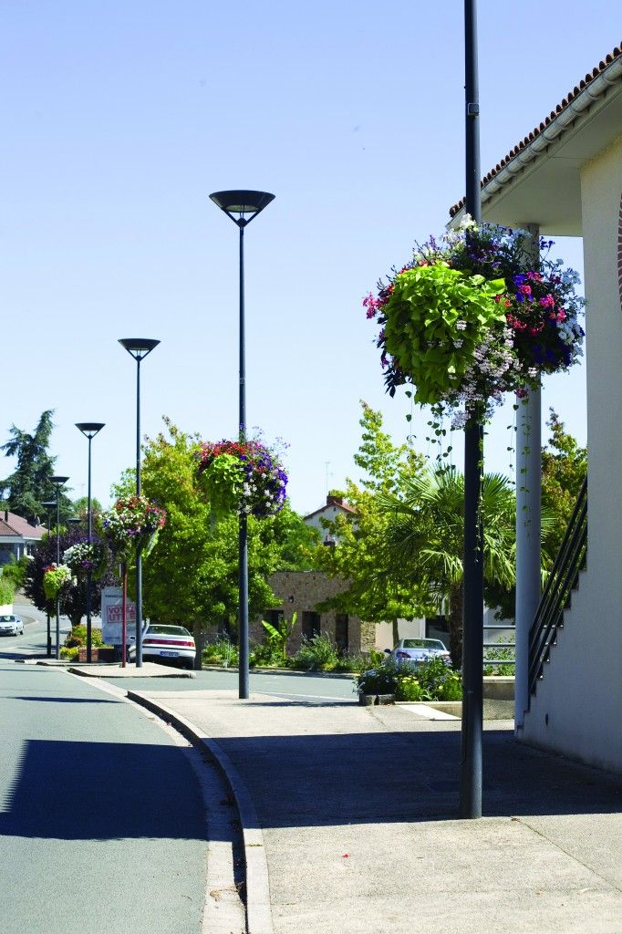 hanging planter for city lanterns Jiflor Atech