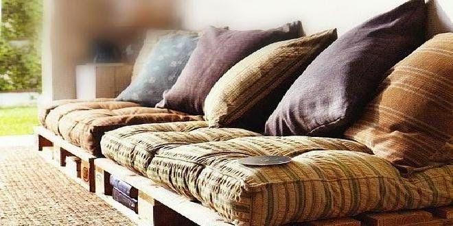 Small&lowcost-Ideas para hacer un sofa   Decorar tu casa es facilisimo.com