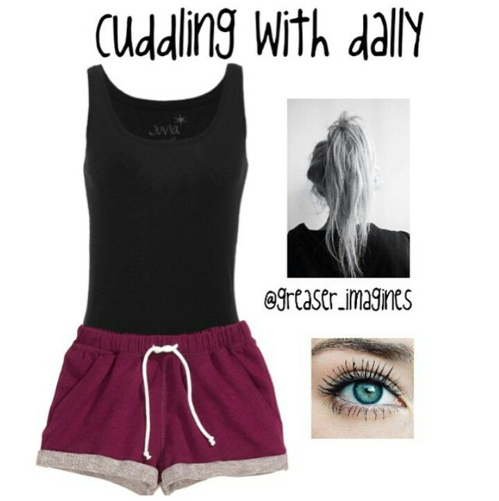 cuddling with dally dally imagine the outsiders