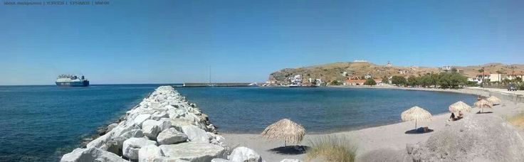 A summer view of the harbour of #Ai #Stratis #Agios #Efstratios | 2013 | www.sanstrati.sail.to