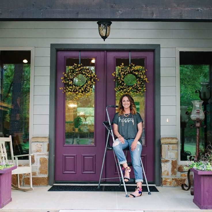 143 Best Painted Doors Images On Pinterest: 25+ Best Ideas About Purple Front Doors On Pinterest