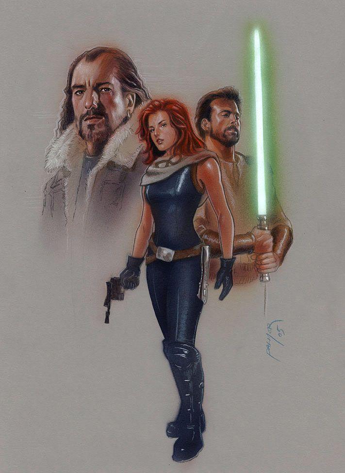 SW extended Universe Heroes by jasonpal on deviantART  mara,talon,kyle