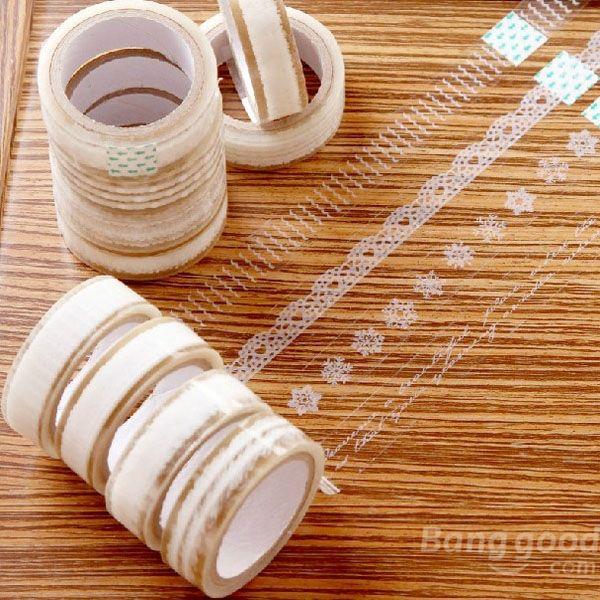 Aliexpress.com: Acheter Ladycode dentelle transparente ruban Floral décoratif dentelle ruban adhésif Transparent bande de dentelle de qualité de la bande fiable fournisseurs sur ladycode