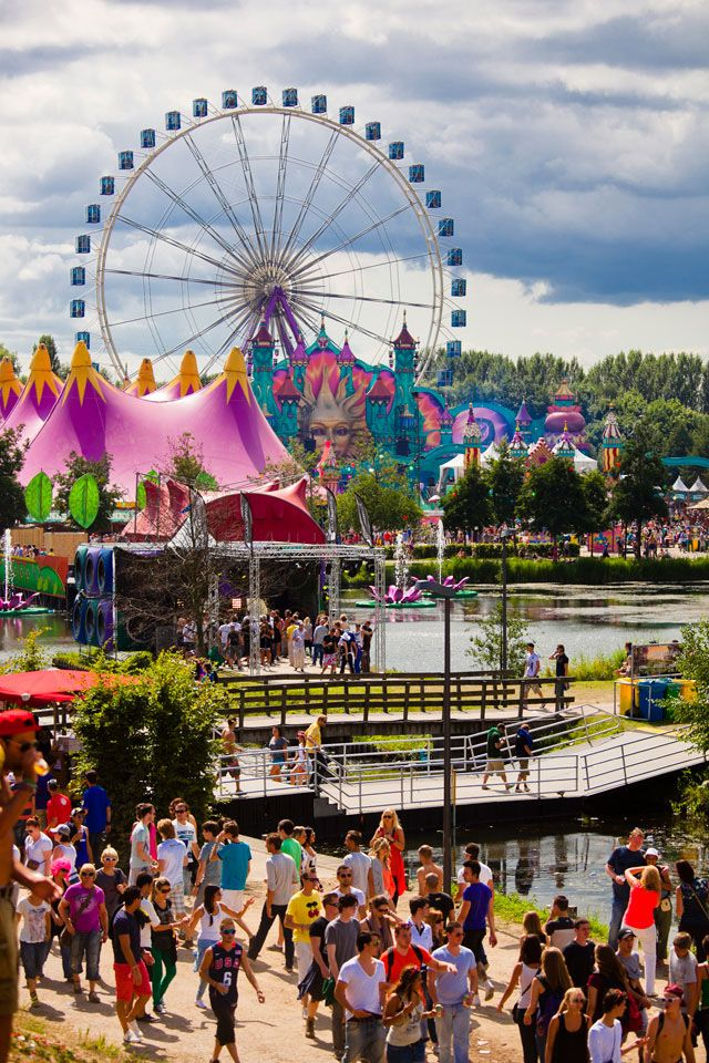 Tomorrowland EDM Festival, Belgium