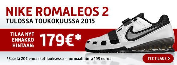 Suunnittelimme ja toteutimme Very Black Storen Nike Romaleos 2 kampanjabannerin.
