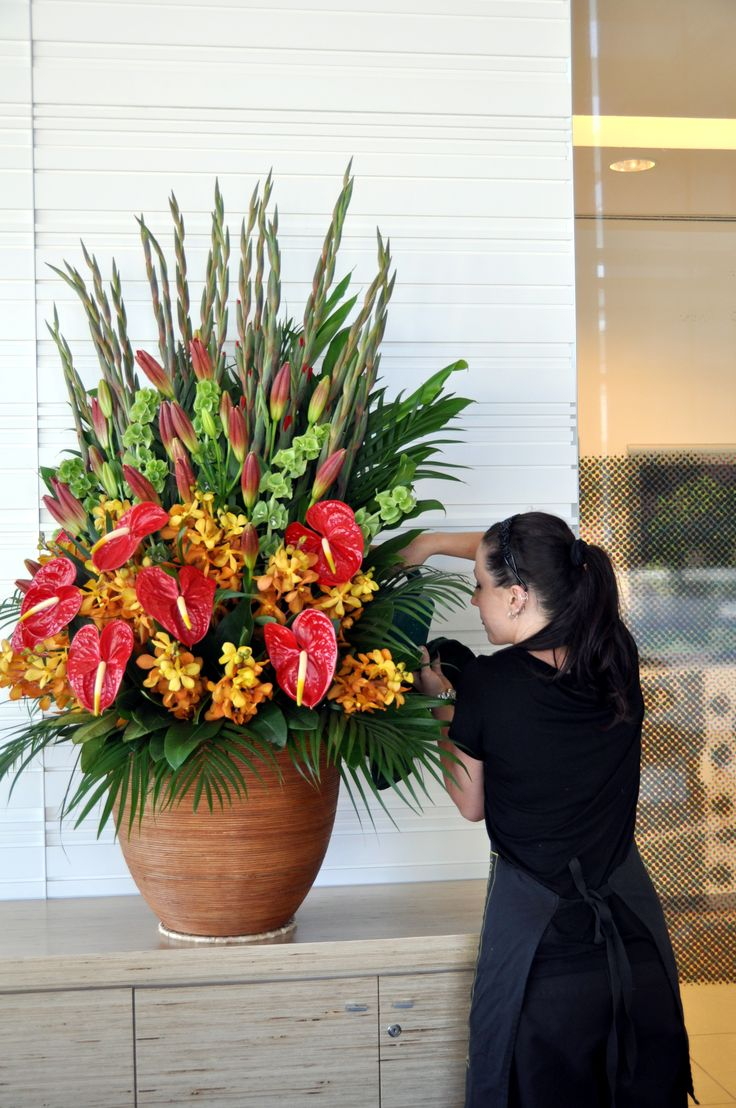 8 best behind the scenes images on pinterest behind the scenes watering a beautiful arrangement donvale flower gallery izmirmasajfo Gallery