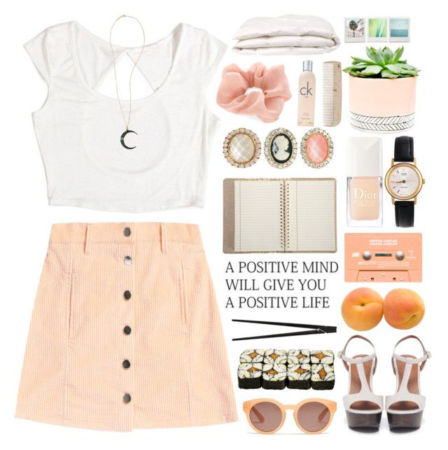 """""""  PACIFY HER BY MELANIE MARTINEZ."""" by trash90sclub ❤ liked on Polyvore featuring beauty, Bruno Premi, Accessorize, Madewell, CB2, Christian Dior, American Apparel, Barneys New York, ASOS and Hostess"""