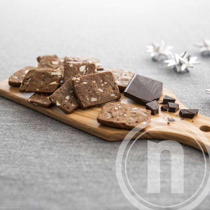 Heibergs brunkager med chokolade