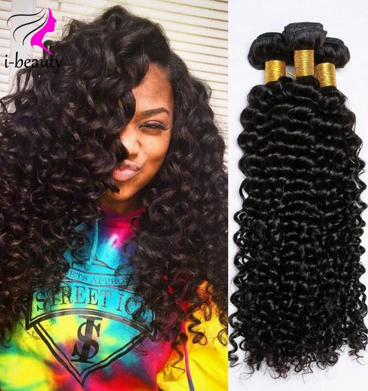 The 25 best curly hair sew in ideas on pinterest sew in indian curly virgin hair 3 bundles deep wave hair 100 human hair sew in extensions 7a pmusecretfo Image collections