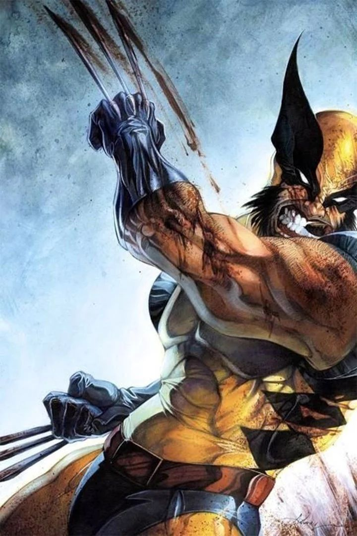 Foto: A man who has nightmares every night of his life is in pain.  Image Source: Jeff Timothy  #wolverine   #marvel