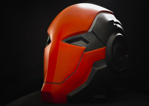 Custom Red Hood Helmet by NCWorkshop on Etsy
