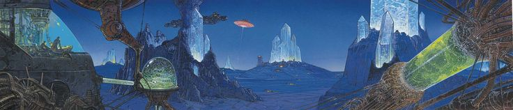 Oh, and this is just so badass. Moebius, not sure what book, but...damn...