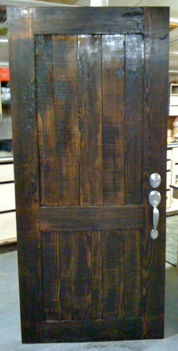 Reclaimed Wood Front Doors Timber Frame Exterior