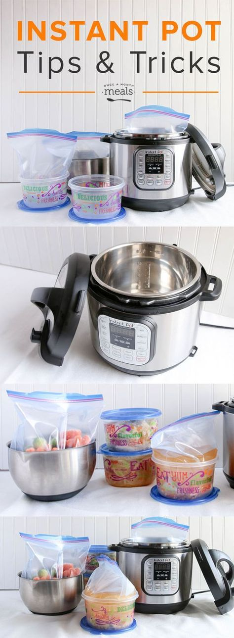 We are sharing our best instant pot tips and tricks including how to cook your freezer meals from frozen in the instant pot!: