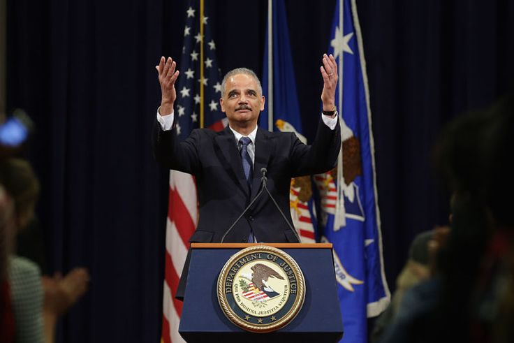 We Need to Talk About Eric Holder's Ominous 3 a.m. Tweet