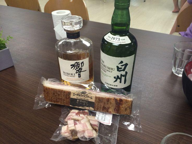 favorite foods & whisky