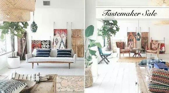 Modern nomad living rooms