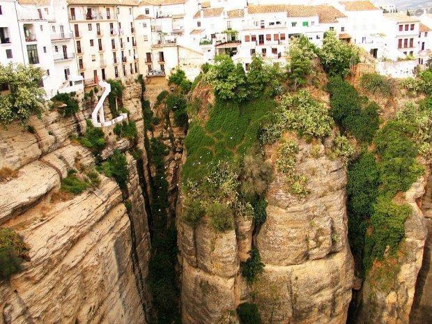 """casas colgantes'' w Cuenca Hiszpania"