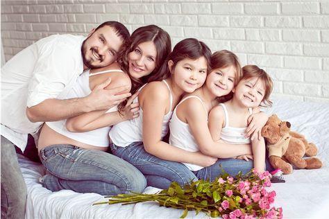 фотосессия большой семьи: 17 тыс изображений найдено в Яндекс.Картинках