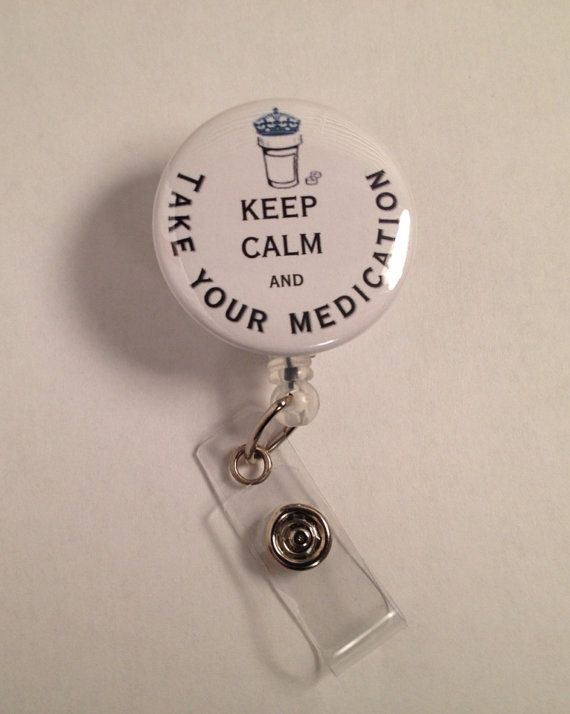 Pharmacy++Medical+Retractable+Name+ID+Badge+by+ButtonBadgereels4u,+$5.50