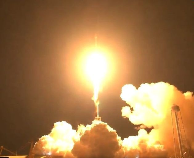 After delay SpaceX sends EchoStar satellite into orbit  but forgoes rocket landing