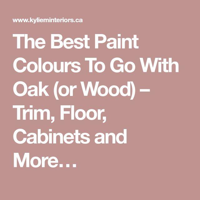 Best Paint Color With Oak Cabinets Sg08: Best 25+ Wood Trim Walls Ideas On Pinterest