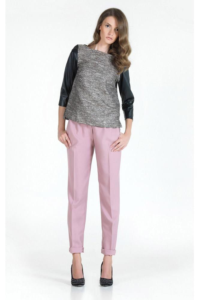 Reese High-Waisted Wool Pants