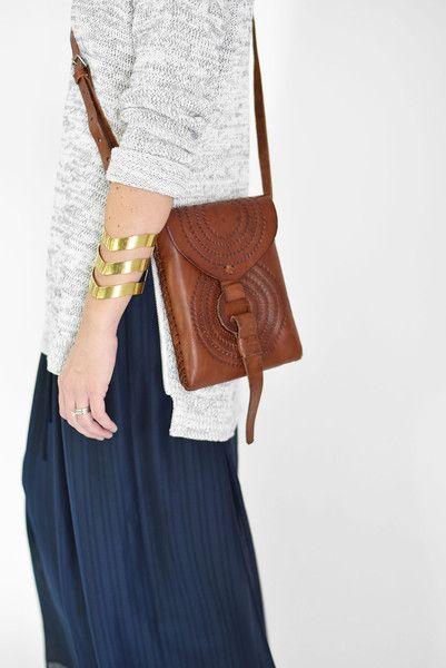 Embossed Pouchette | Fair Trade | $89