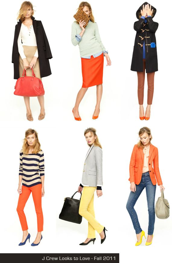 In Honor Of Design: Style Files: J Crew Fall ideas