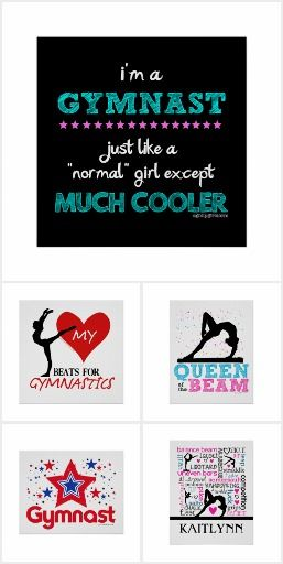 Gymnastics Posters by Golly Girls