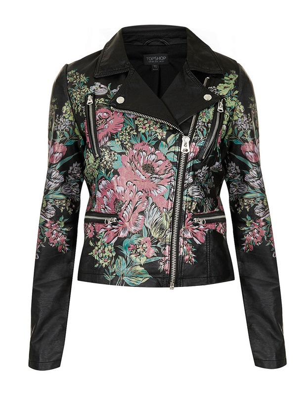 Love it....placement of design.   Cazadora de Topshop