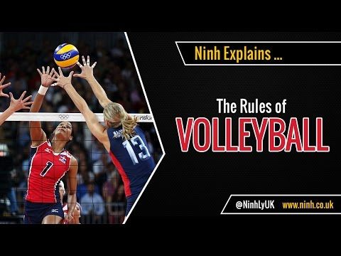 (1) The Rules of Volleyball - EXPLAINED! - YouTube