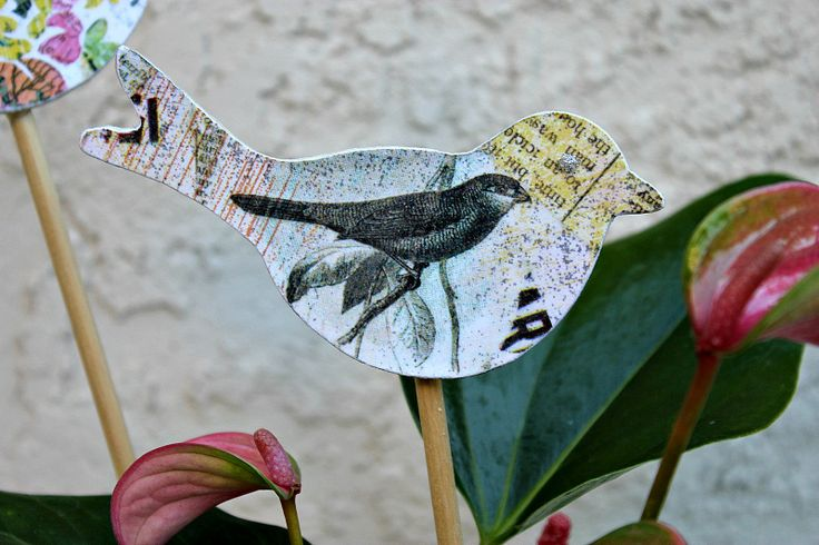 Spring Birds: Kids Crafts, Thick Cards