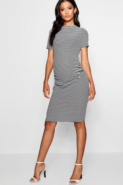 5710aa04049e Click here to find out about the Maternity Basic Rib Bodycon Dress from  Boohoo, part of our latest Maternity Clothing collection ready to shop  online today!