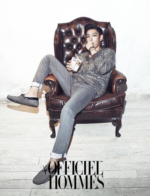 """TOP for """"L Officiel Hommes: Korea"""" (November 2013)"""