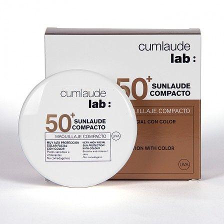 Farmacia Jiménez | Cumlaude Sunlaude Maquillaje Compacto 50+ light 10g