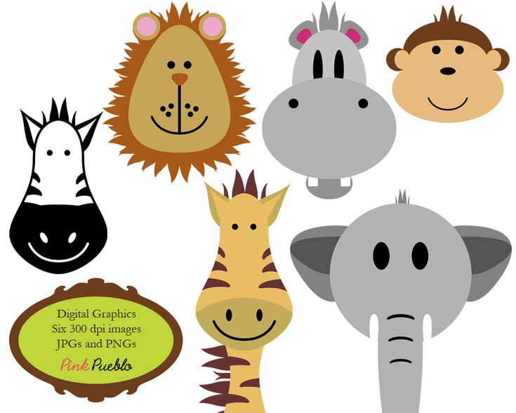9 best jungle clip art images on pinterest jungle animals jungle rh pinterest com zoo animals clipart images zoo animals clipart free