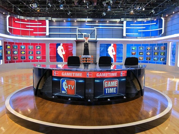Martin VC-Grid™ Front and Center on NBA TV Studio | TV studio