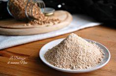 COME FARE LE FARINE CON IL BIMBY a casa. Piccolo articolo in cui viene spiegato come preparare le farine in casa usando il Bimby.