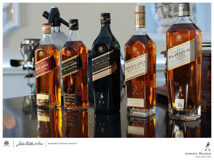 Johnnie Walker® | Collection - Blended Scotch Whisky