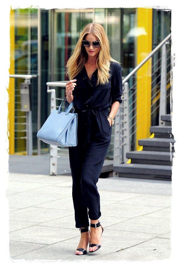 Rosie Huntington Whiteley Summer City Chic Fashion Look Celebrity Inspired Fashion