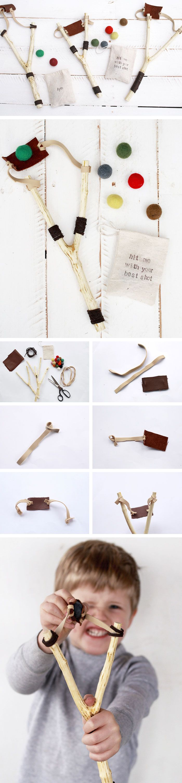 DIY Slingshot | Christmas Gifts for Kids to Make | Handmade Christmas Gifts for Boys
