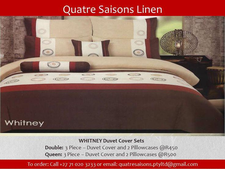 DUVET SET-WHITNEY Duvet Cover Sets