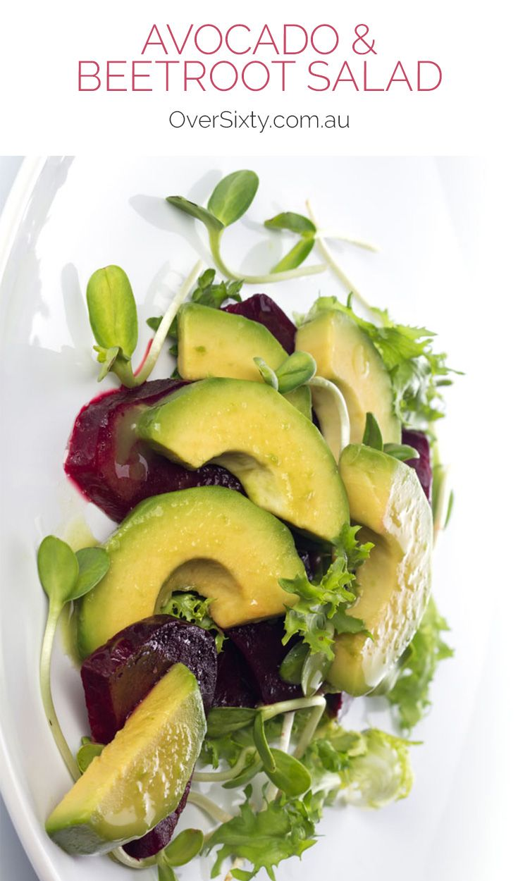 Avocado & Beetroot Salad - this is the perfect summer recipe. It's light and flavourful but so easy to make. Perfect at your next BBQ or dinner party.
