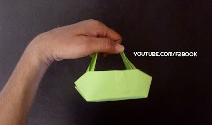 Ladies Handbag - accessories Paper Foldings - origami for kids - Children Crafts Easy Origami Paper Making - By F2BOOK  For More @ SubScribe : https://goo.gl/3RDUpf WebBlog : http://f2-book.blogspot.in/ LIKE FB : https://goo.gl/z6vjRH #Origami #Instructions #paper #Craft #Fold #F2BOOK #origamiforkids #kids #leanings #accessories