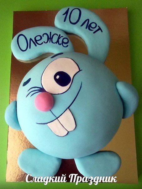 Смешарики #торт_на_заказ_харьков #мульт_герои #бисквитный_торт #шоколадный_торт
