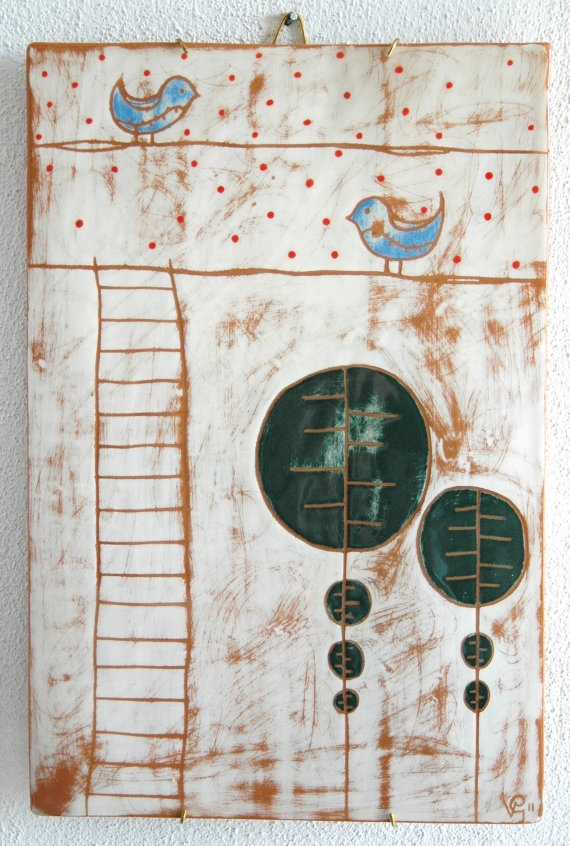 ceramic decoration by concreta on etsy